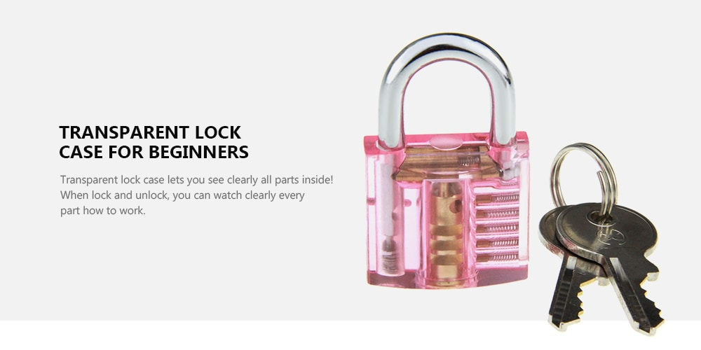 Zár + Lockpick kombinációs eszköz