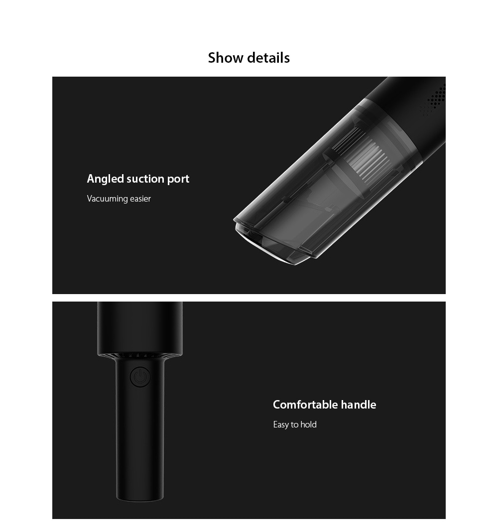 8030 Car Home Dual-use Handheld Wireless Vacuum Cleaner details
