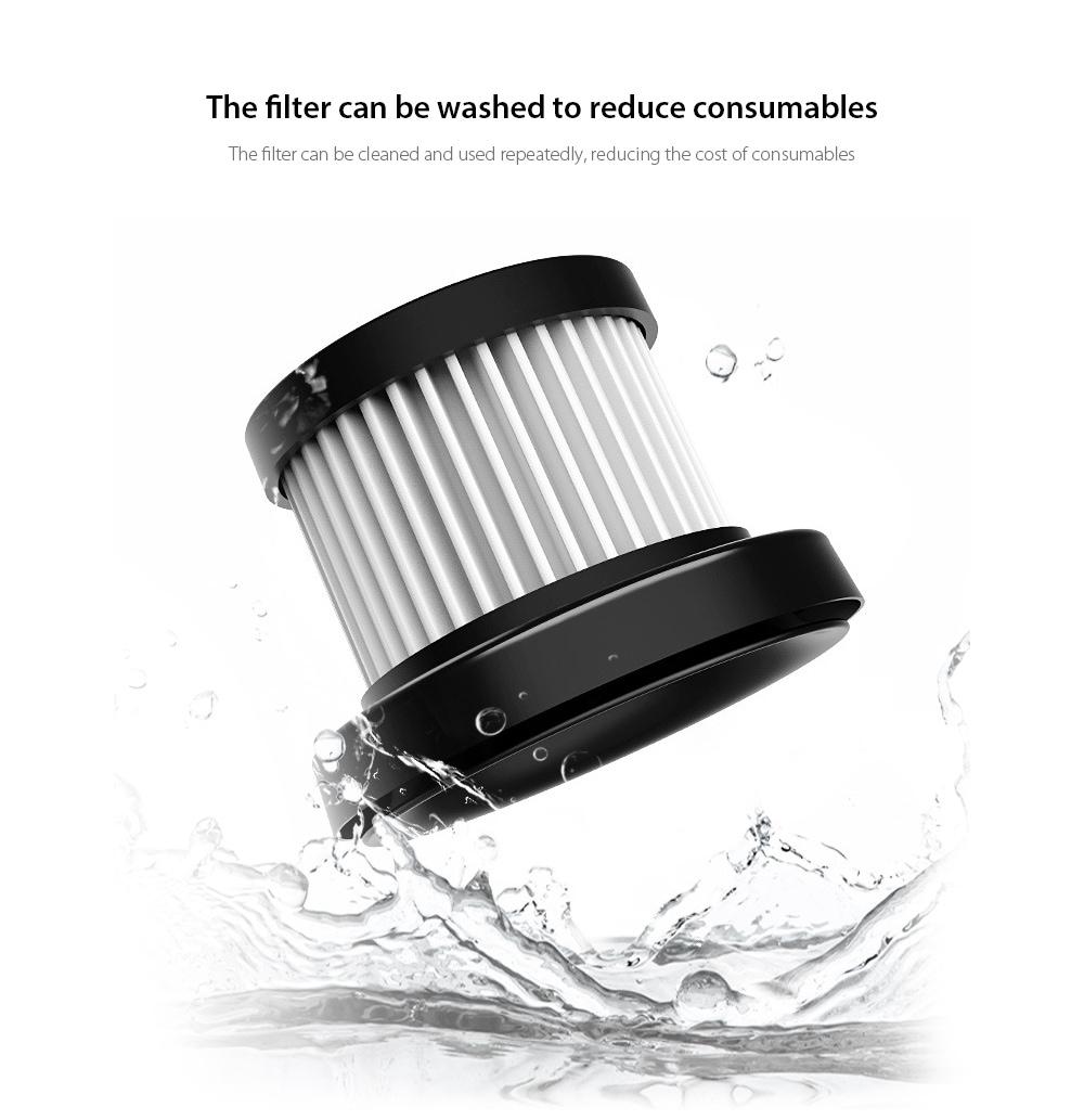 8030 Car Home Kettős felhasználású kézi vezeték nélküli porszívó A szűrő mosható