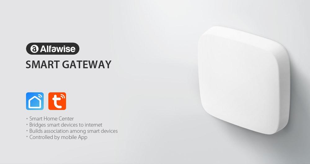 Alfawise GWZ02 intelligens átjáró-fehér