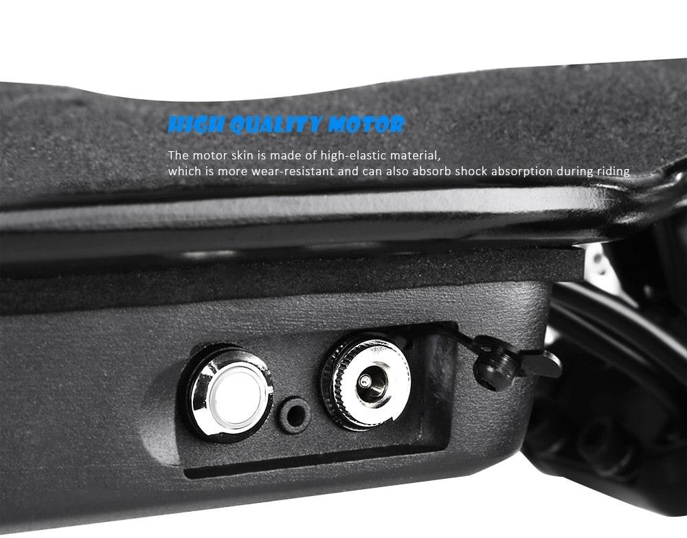 Alfawise Verreal VRLF1001 Négykerekű elektromos gördeszka - fekete