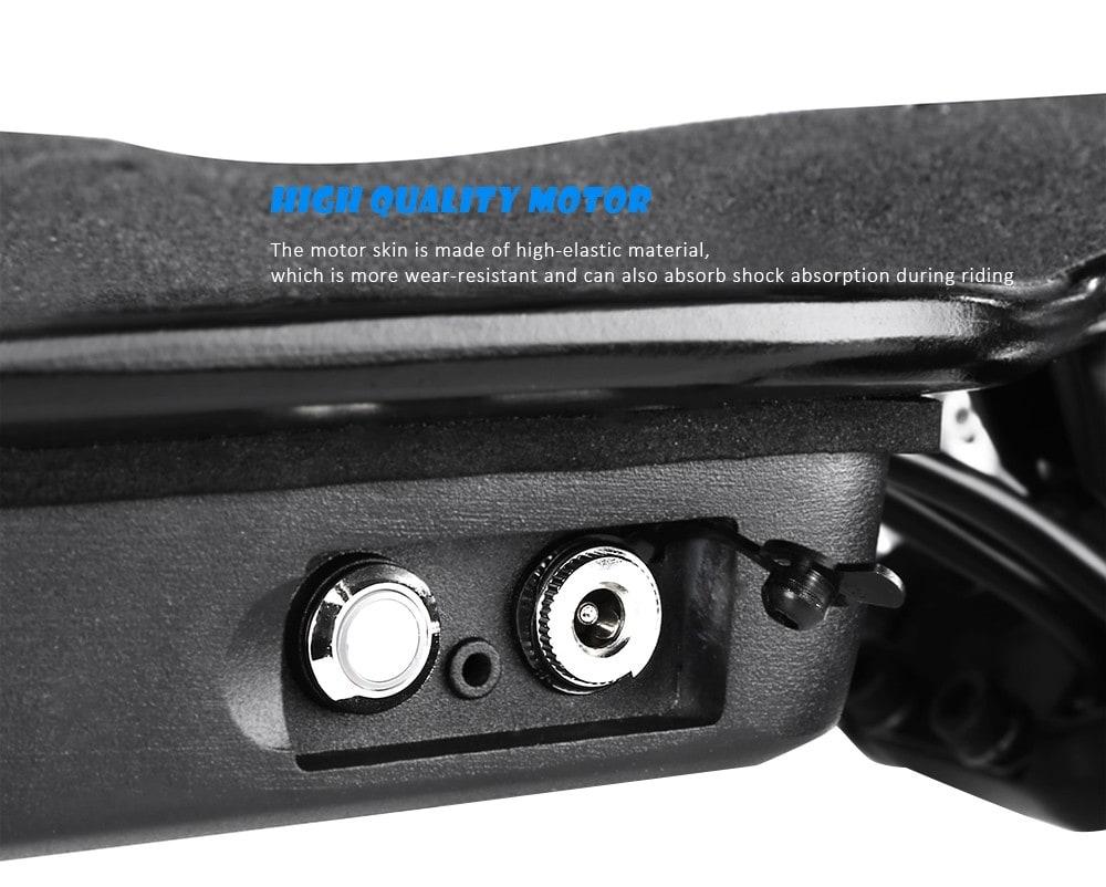 Alfawise VRLF1001 négykerekű elektromos gördeszka - fekete EU dugó