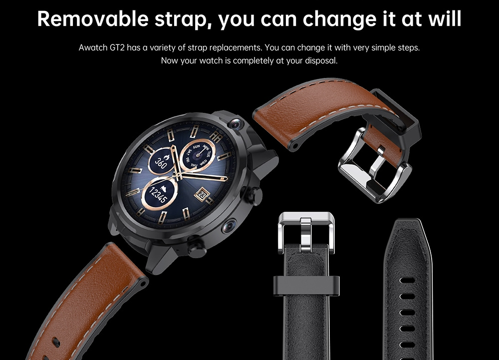 ALLCALL GT2 Watch Phone Removable Strap