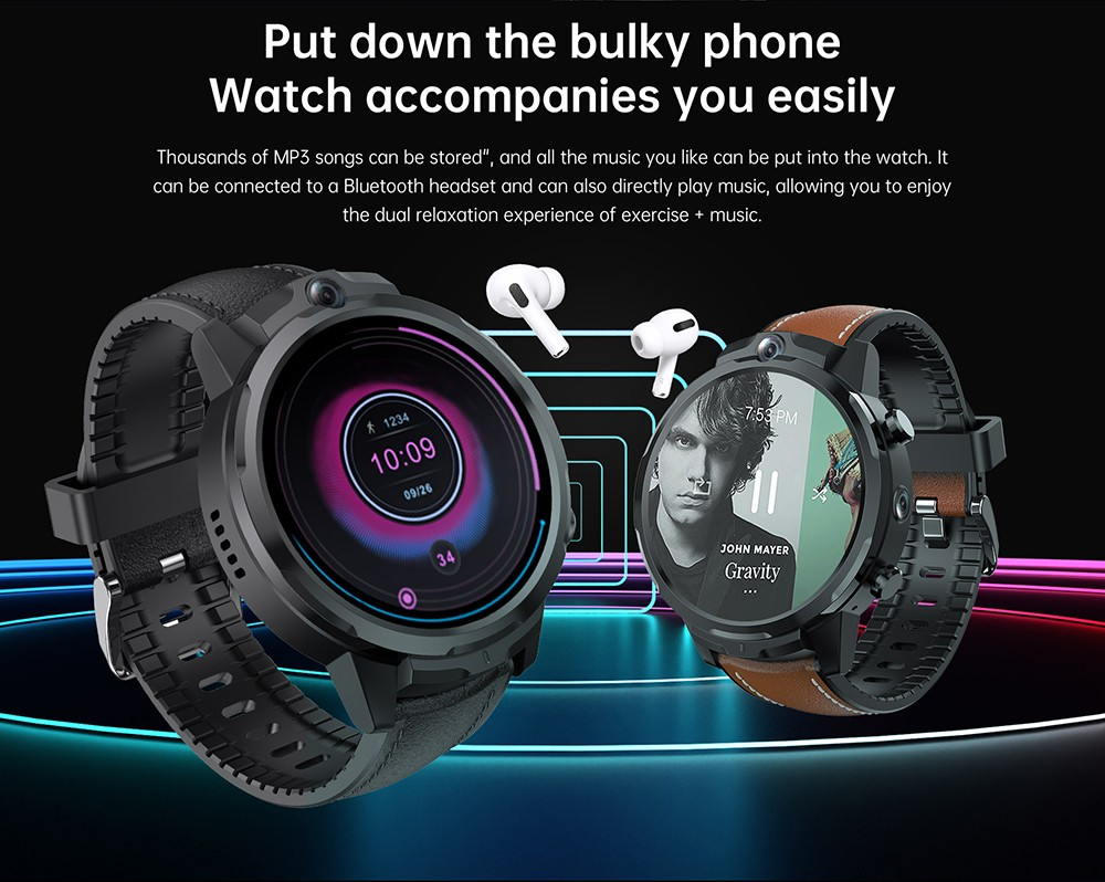 ALLCALL GT2 Watch Phone Large Capacity