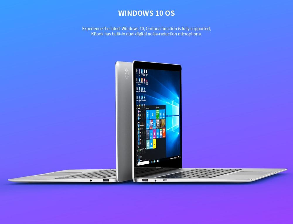 ALLDOCUBE Kbook 13,5 hüvelykes laptop Windows 10 OS Intel M3 - 6Y30 kétmagos 8 GB RAM 512 GB SSD 1.0MP kamera - ezüst