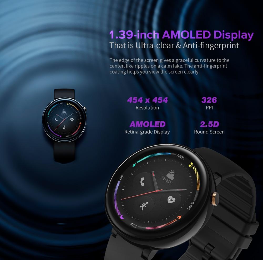 Amazfit Nexo 4G Smartwatch telefon - fekete