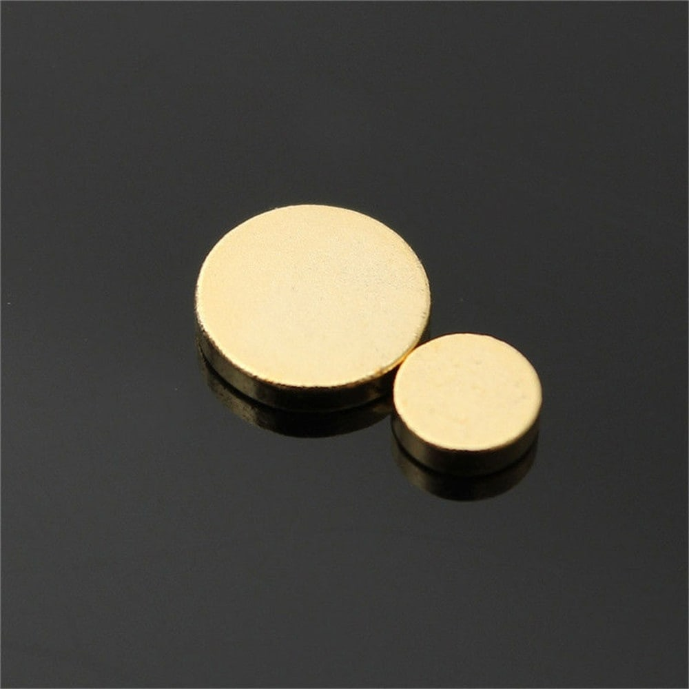 Anti Smoking Magnetic Patch Ear Magnet Stop Cigarettes Smoke Quit- Gold