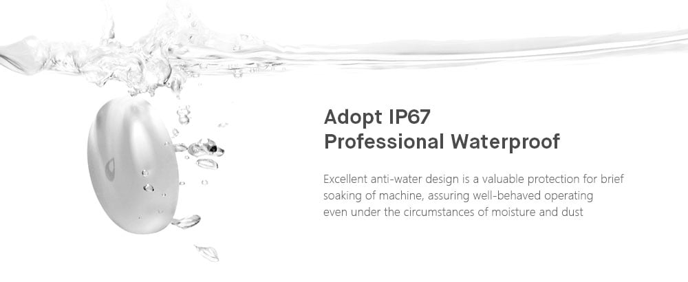 Aqara intelligens vízérzékelő Xiaomi-tól - fehér