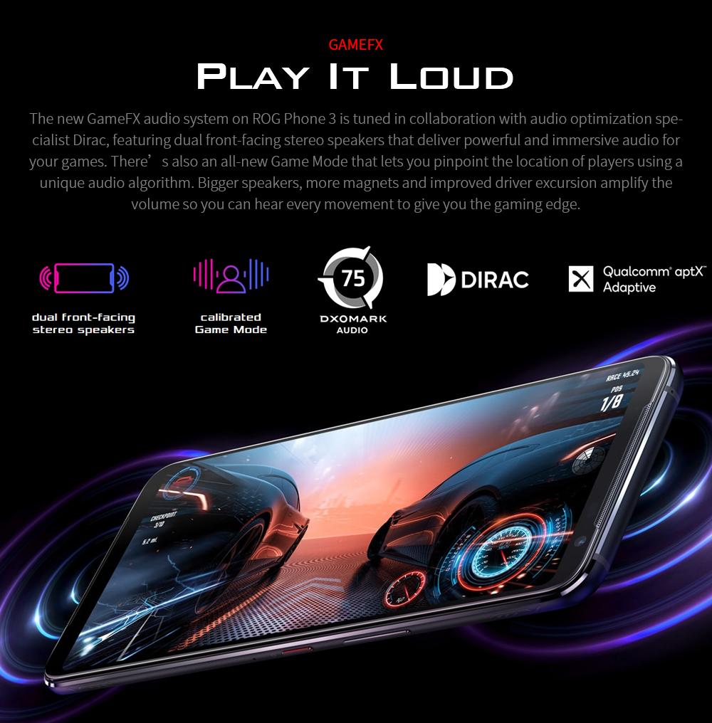 ASUS ROG Phone 3 Gaming 5G Smartphone AIRTRIGGER 3