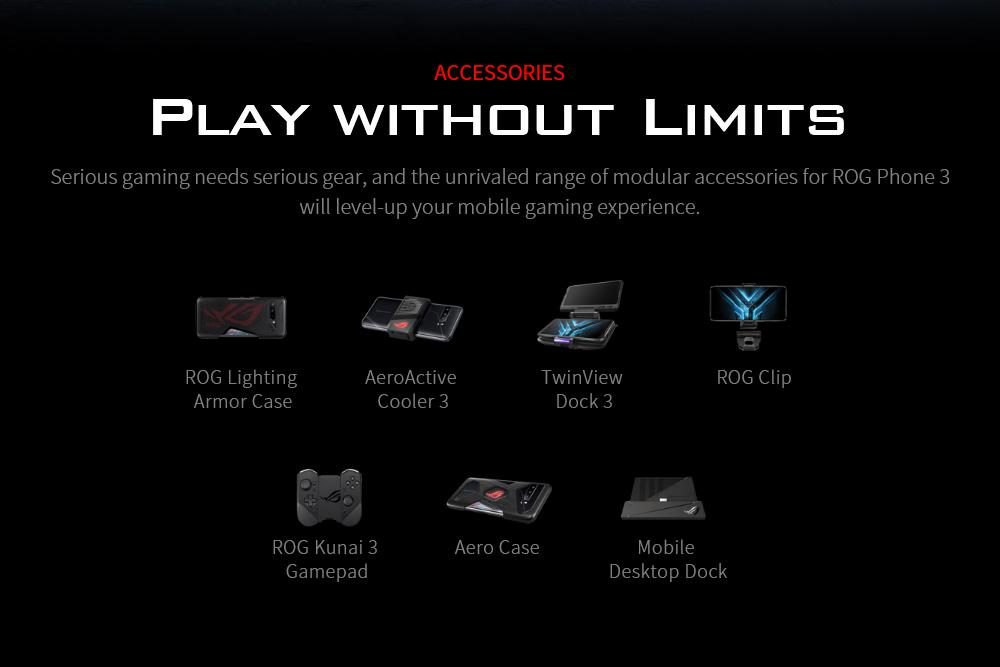 ASUS ROG Phone 3 Gaming 5G Smartphone ACCESSORIES