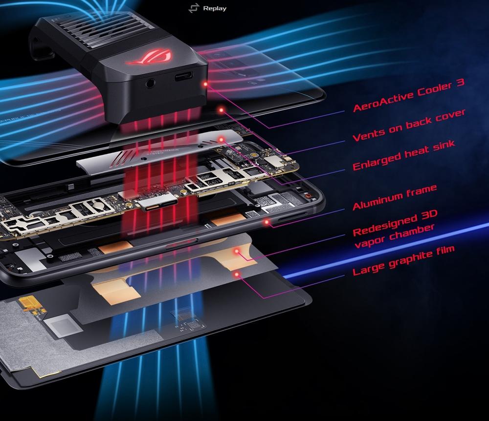 ASUS ROG Phone 3 Gaming 5G Smartphone GAMECOOL 3