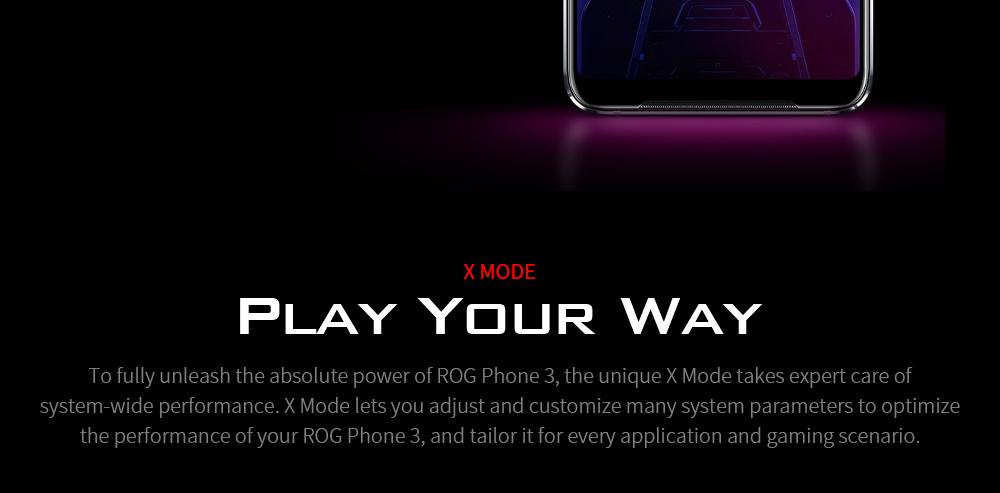 ASUS ROG Phone 3 Gaming 5G Smartphone X MODE