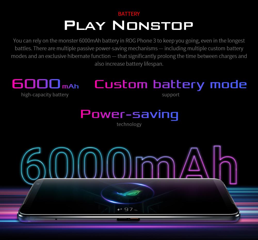 ASUS ROG Phone 3 Gaming 5G Smartphone GAMEFX