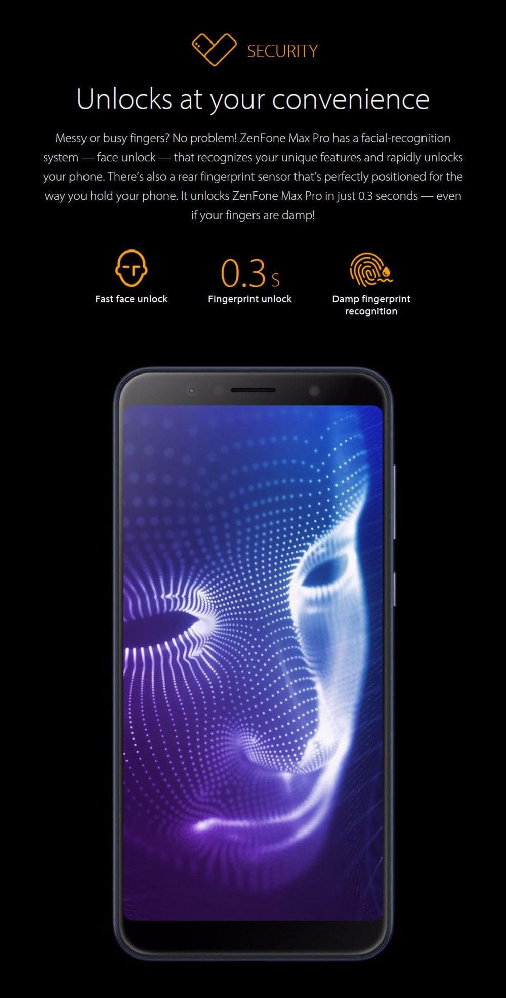 ASUS ZenFone Max Pro ( M1 ) 4G okostelefon