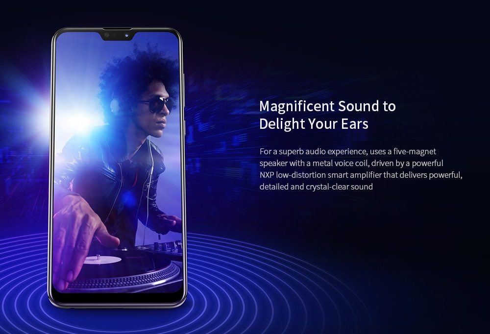 ASUS ZenFone Max Pro ( M2 ) ( ZB631KL ) 4G Phablet 6.3 inch Stock Android Oreo Snapdragon 660 Octa Core 4GB RAM 128GB ROM 12.0MP + 5.0MP Rear Camera 5000mAh Battery- Deep Blue