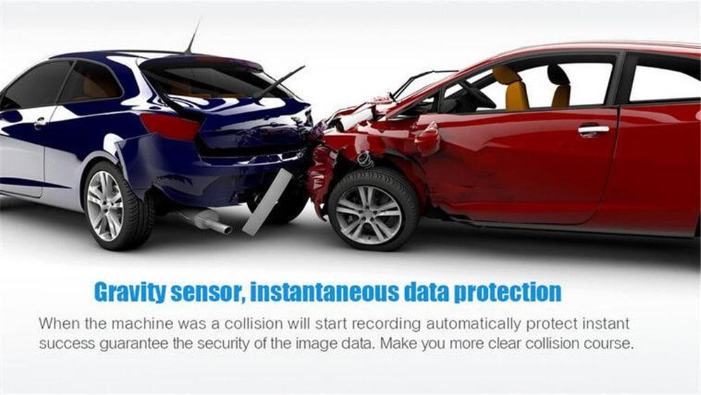 BALDR GT300 1080P 2.4 inch Car Dashcam Video Recorder- Blue