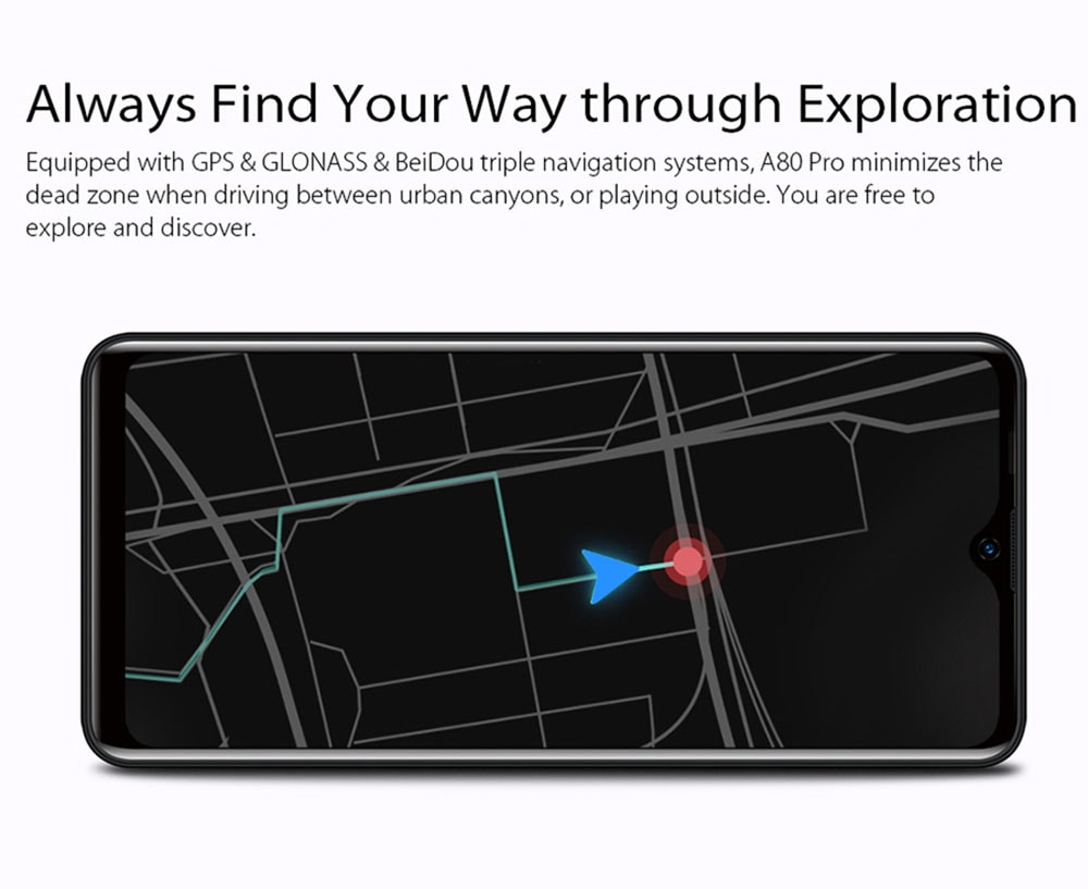 BlackView A80 Pro 4G Smartphone Global Version - Red Other Area