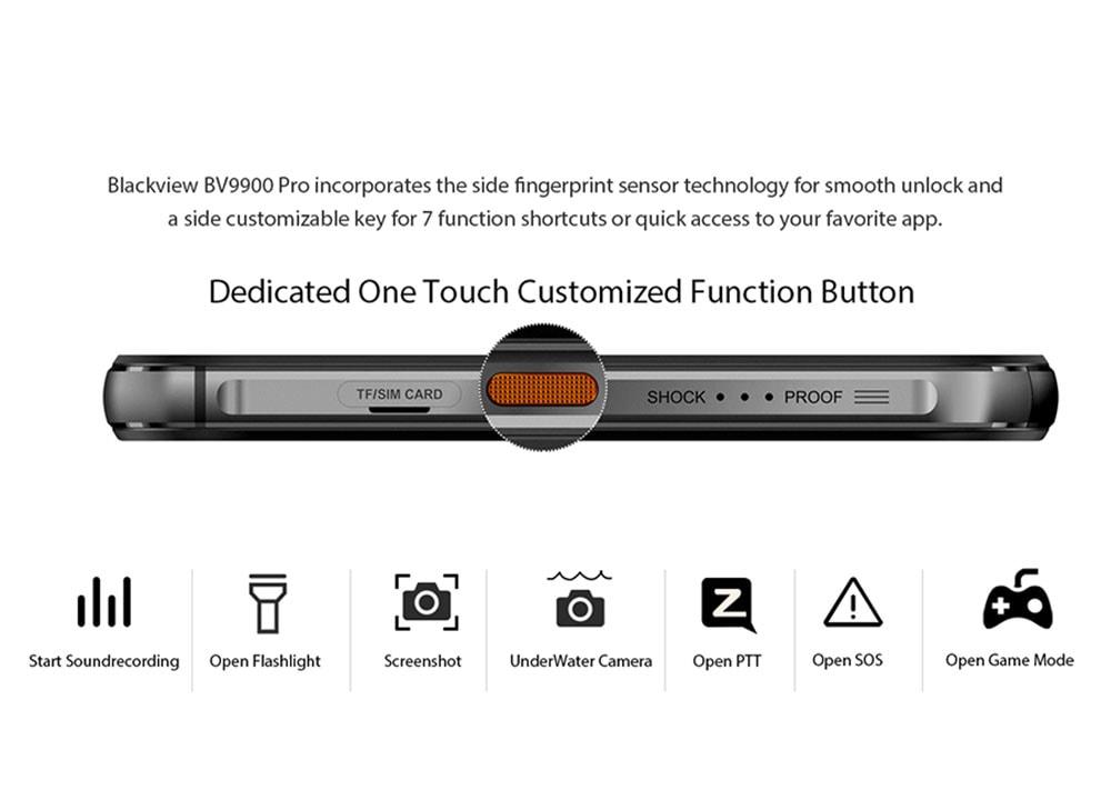 BlackView A80 Pro 4G Smartphone Global Version - Red EU Version