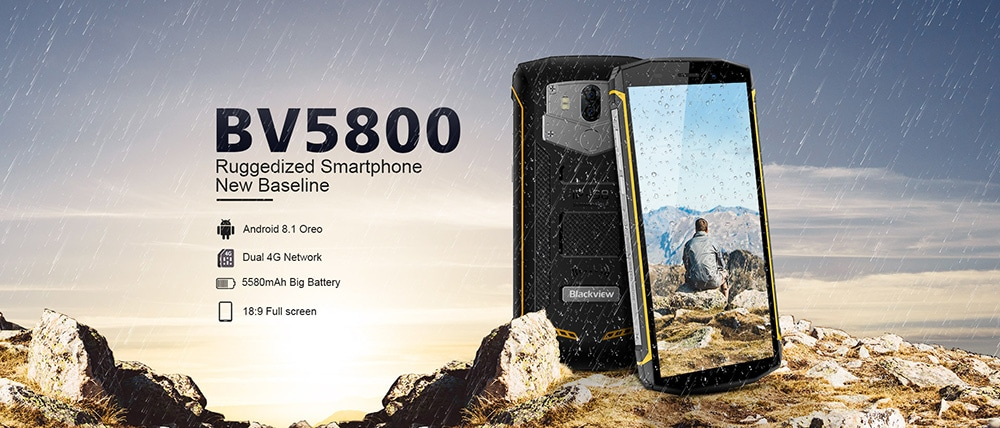Blackview BV5800 4G okostelefon