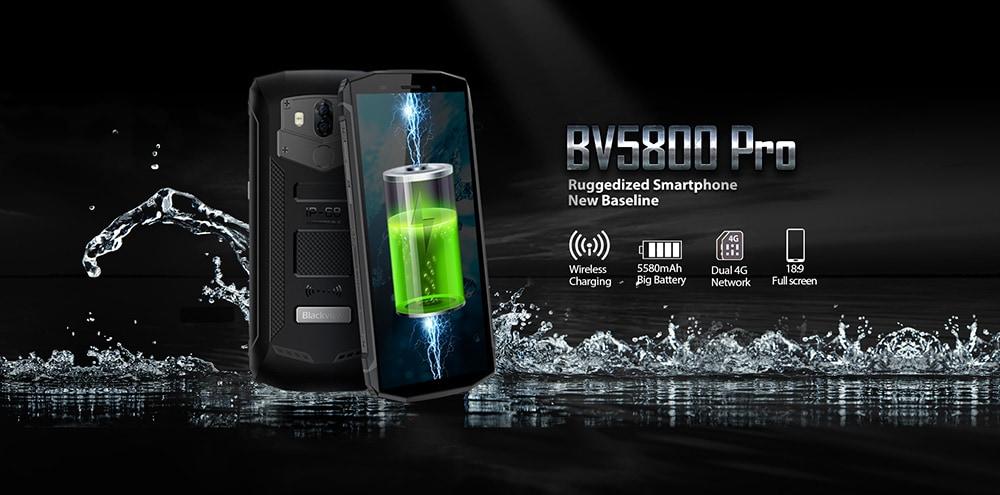 Blackview BV5800 PRO 4G okostelefon