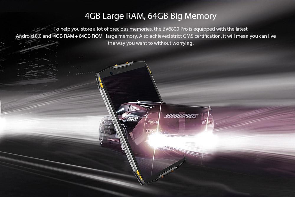 Blackview BV6800 Pro 4G okostelefon