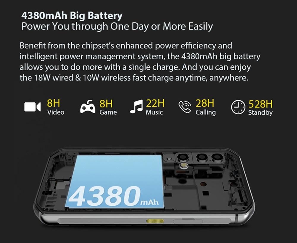 BlackView BV9900 4G Smartphone Global Version - Silver EU Version