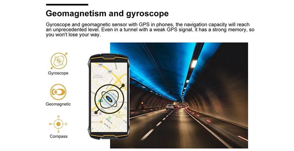 Cubot KINGKONG MINI 4G Smartphone 3GB RAM 32GB ROM- Orange