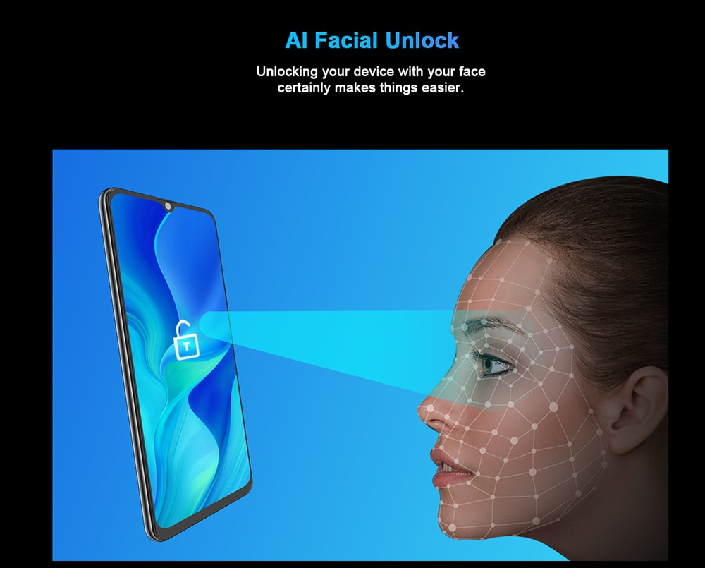 CUBOT NOTE 20 PRO 4G Smartphone Android 10 with NFC Global Version - Green