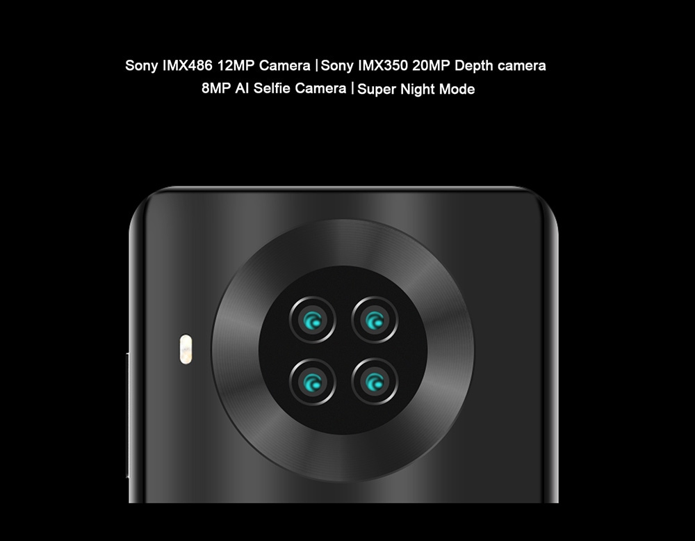 CUBOT NOTE 20 PRO 4G Smartphone Android 10 with NFC Global Version - Blue 8GB+128GB