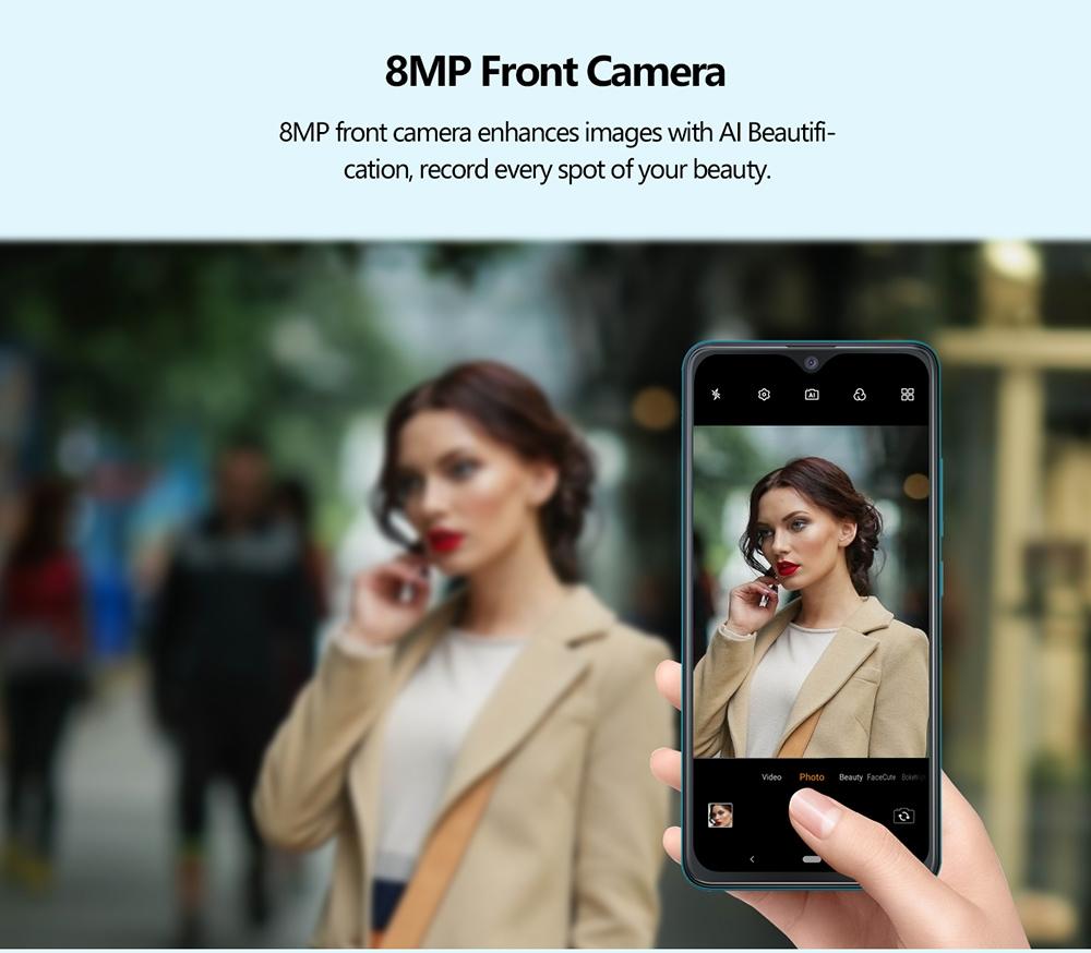 CUBOT NOTE 7 4G okostelefon globális verzió - fekete