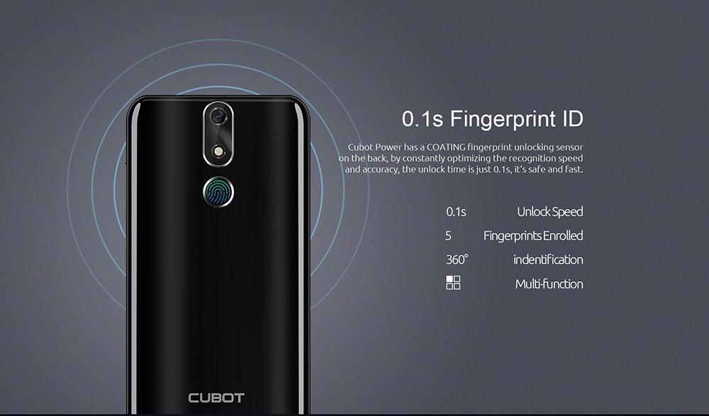 CUBOT POWER 4G okostelefon