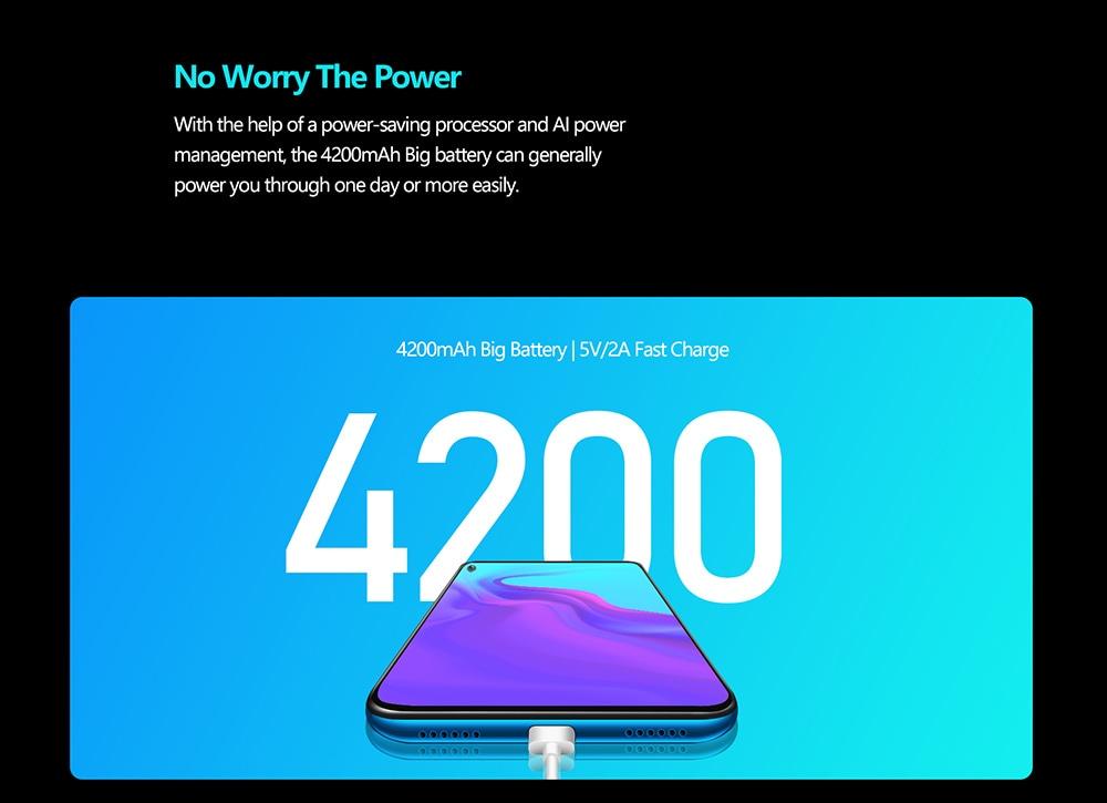 Cubot X30 4G Smartphone Global Version - Blue 8GB+256GB