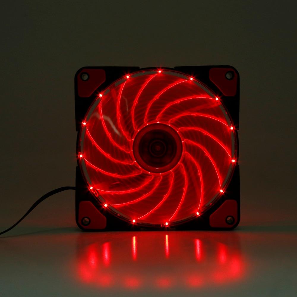 Asztali tok ventilátor hőelvezető fény 12V-fehér