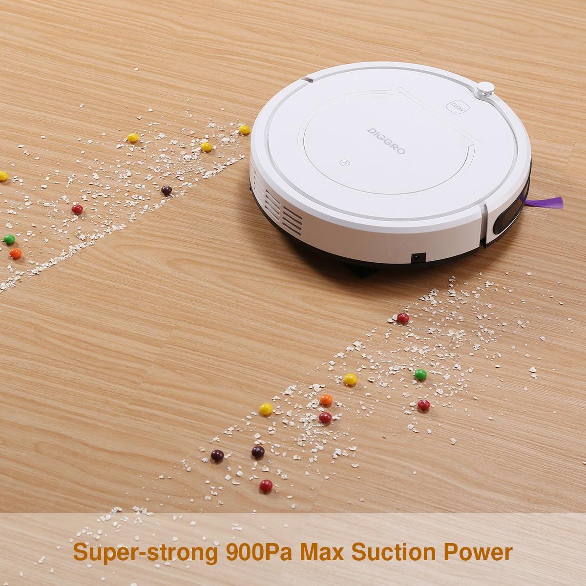 Diggro kk320 intelligens tisztító porszívótisztító gép 4 tisztítási mód - Fehér EU