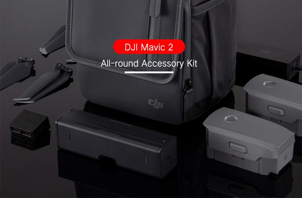 DJI teljes körű tartozékkészlet Mavic 2- Black számára