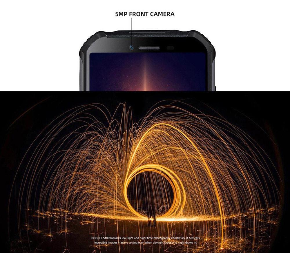 Doogee S40 Pro 4G okostelefon globális verzió - narancssárga egyéb terület