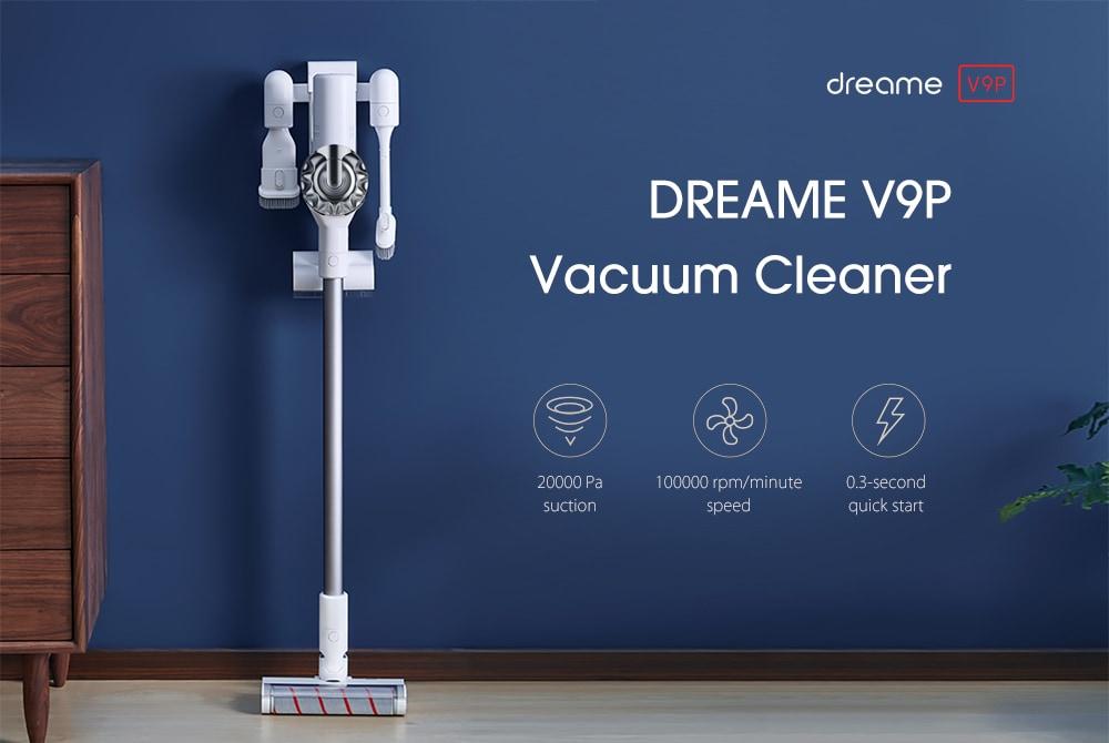 DREAME V9P otthoni hordozható vezeték nélküli kézi porszívó-fehér