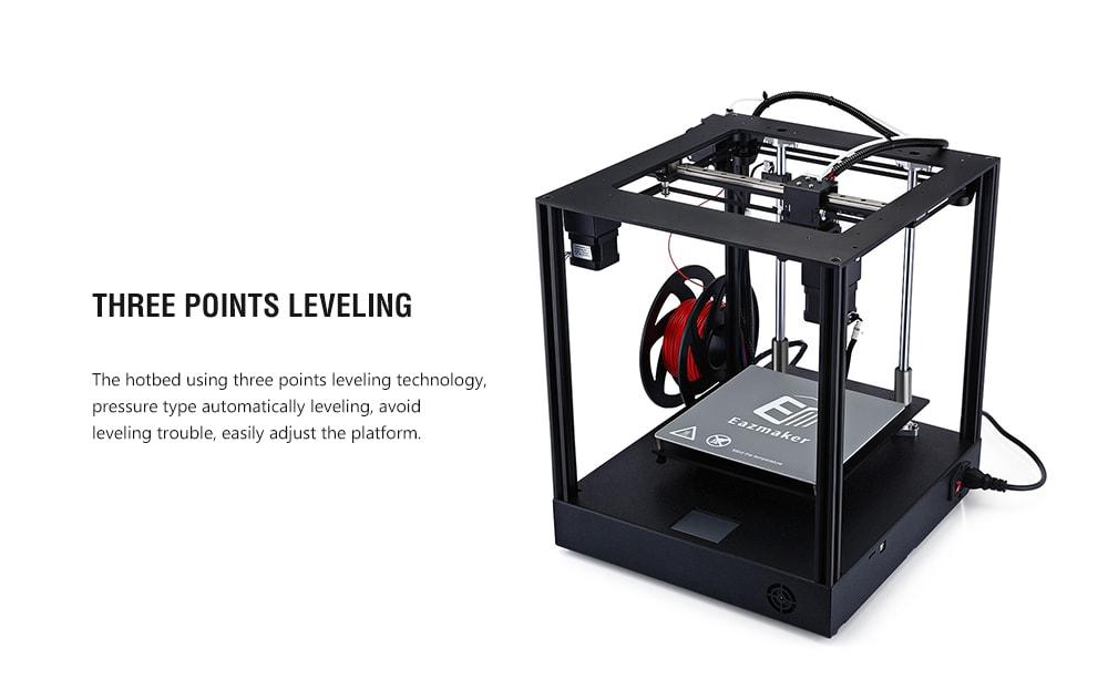 Eazmaker XY Cube biztonságos, stabil, nagy pontosságú 3D nyomtató - fekete EU dugasz