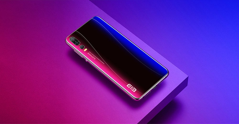 Elephone A5 4G Phablet 6.18 inch Android 8.1 MT6771 Octa Core 2.0GHz 12.0MP + 5.0MP + 0.3MP Rear Camera 20.0MP + 2.0MP Front Camera 4GB RAM 64GB ROM Sise Fingerprint 4000 mAh Built-in Other Area- Twilight Other Area