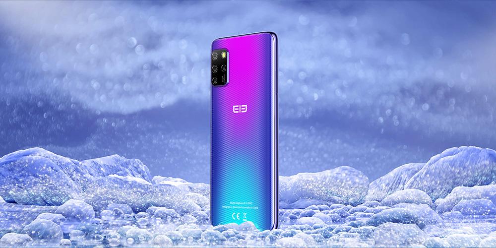 Elephone E10 Pro 4G Smart Phone MT6762D Octa-core 4GB 128GB 6.55 inch 48MP +13MP +2MP +5MP 4000mAh Battery - Gray