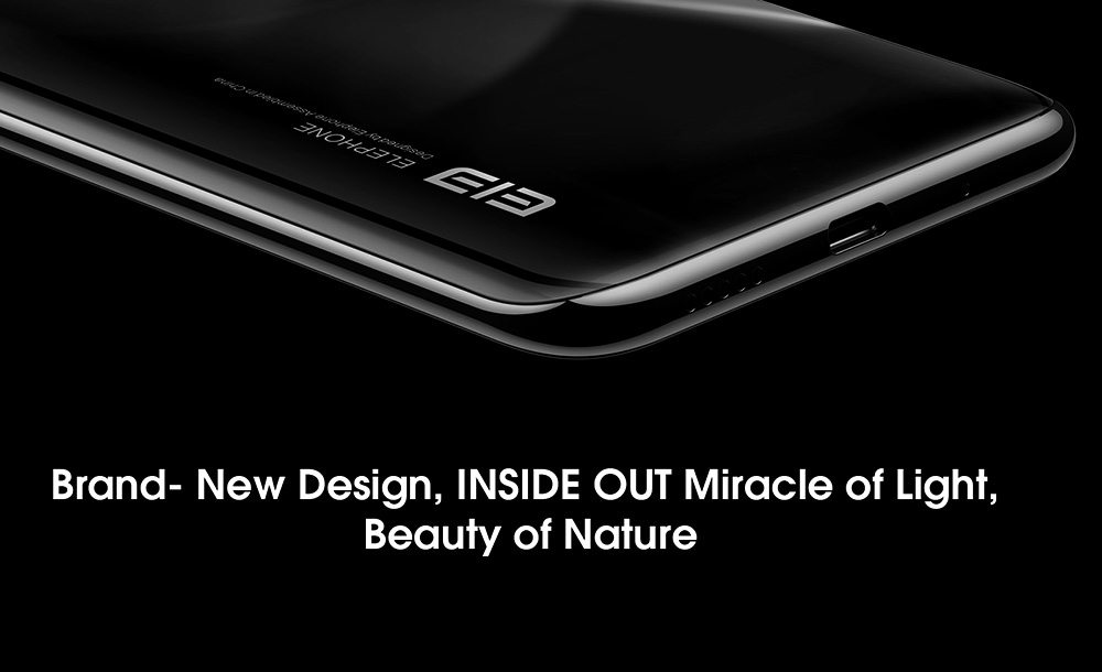 Elephone U3H 4G Smartphone Global Version - Black
