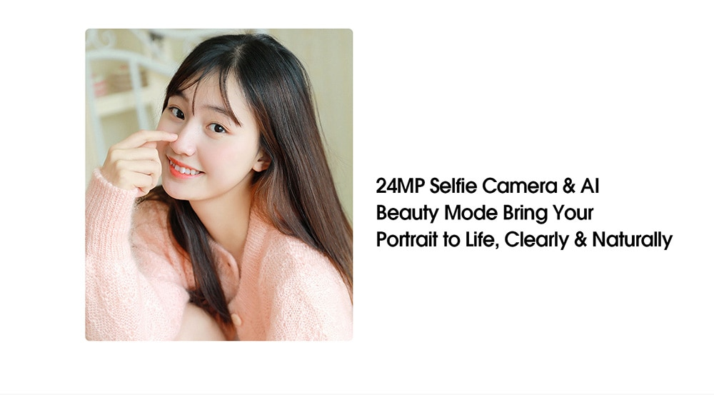 Elephone U3H 4G Smartphone Global Version 8GB RAM 256GB ROM- Crystal Cream