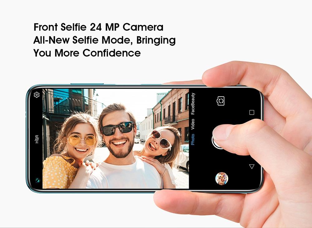 ELEPHONE U5 4G Smartphone Front selfie 24MP Camera