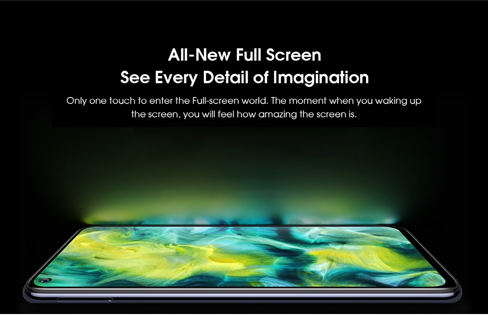ELEPHONE U5 4G Smartphone All-New Full Screen, See Every Detail of Imagination