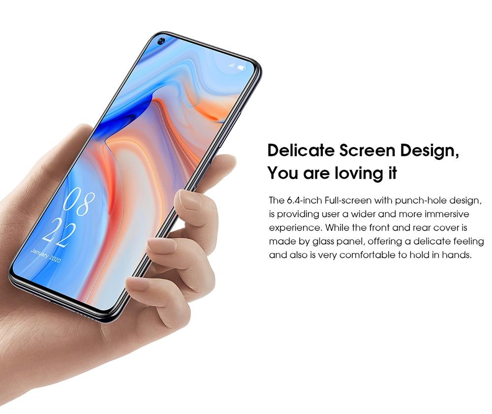 ELEPHONE U5 4G Smartphone Delicate Screen Design, You are loving it