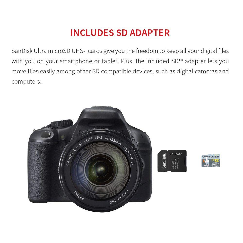 ESTRELLA V60 nagy sebességű, nagy kapacitású Micro SD kártya - palaszürke 32 GB - Nyúlminta
