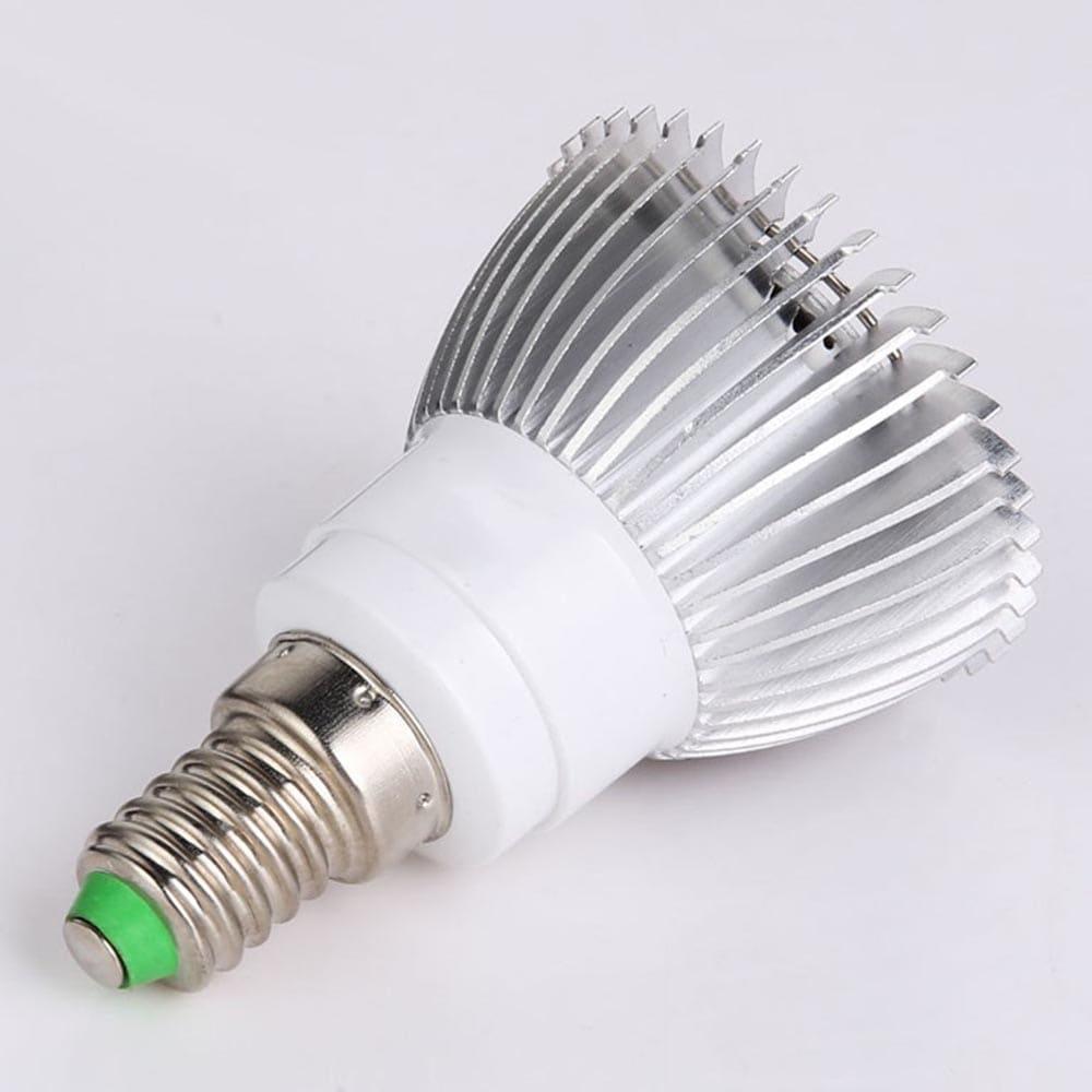Gyári közvetlen 18 LED teljes spektrumú növényi fények Teljes sávú üzem töltőfény Frui- természetes fehér E27