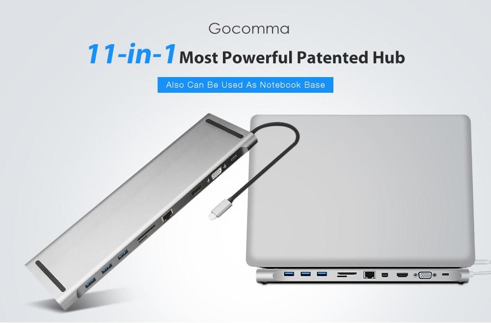 Gocomma 11 az 1-ben a legerősebb szabadalmaztatott agy - ezüst