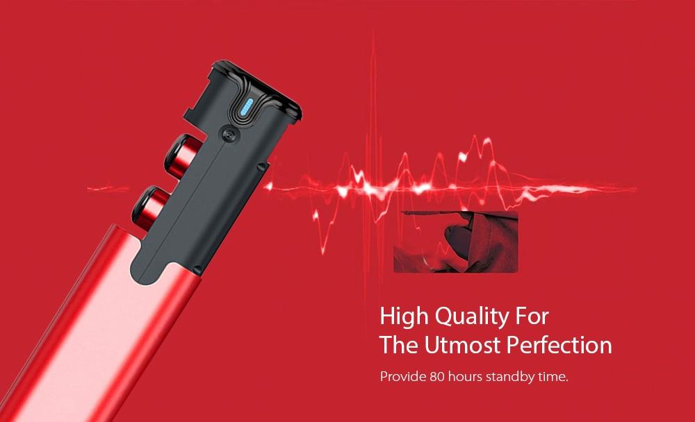 gocomma A2 TWS V5.0 Bluetooth Earphones Wireless In-ear Earbuds- Champagne Gold