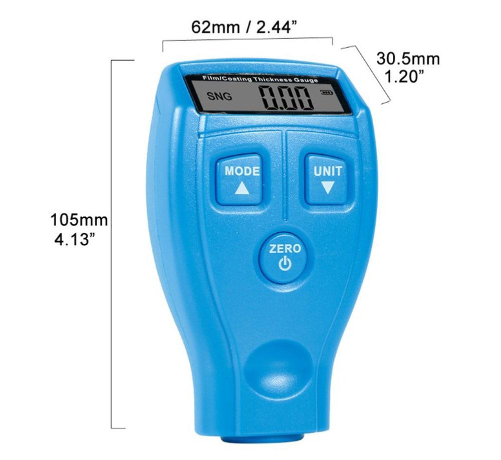 Nagy pontosságú bevonat vastagságmérő-Navy Blue